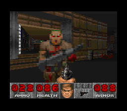 Doom - woah to close!! - User Screenshot